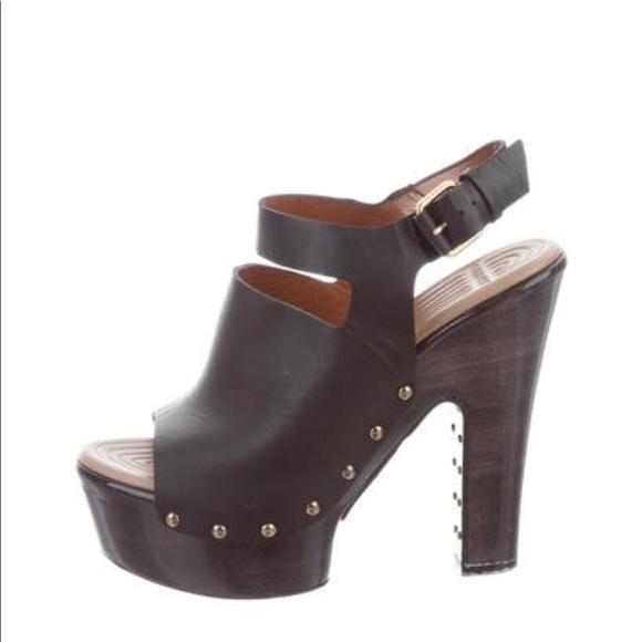 5aba6b04795 Givenchy Shoes - Givenchy studded platform heels